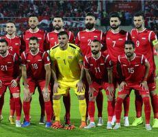 نقل معسكر منتخبنا الوطني لكرة القدم الى دمشق
