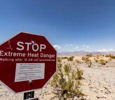 وادي الموت في كاليفورنيا يسجل أعلى درجة حرارة بالأرض خلال أكثر من مئة عام