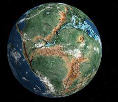 """""""السفر عبر الزمن""""... اضغط على الرابط ضمن المقال وتعرف على مكان منزلك ومسقط رأسك قبل 500 مليون عام..."""