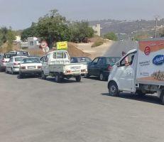 طرطوس: طوابير السيارات تتزايد على محطات الوقود (صور)