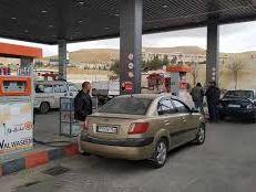 وضع 5 صهاريج محملة بالبنزين بالقرب من محطات وقود في دمشق لتعبئة السيارات