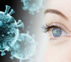 اكتشاف فيروس كورونا في عين امرأة بعد شهرين من تعافيها