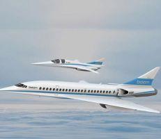 طائرة ركاب جديدة أسرع من الصوت