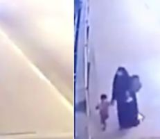 أم عراقية ترمي طفليها في نهر دجلة