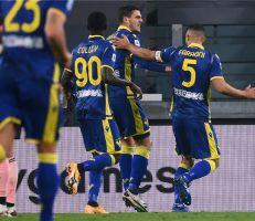 أول لاعب مُنذ 26 عامًا.. مهاجم فيرونا يدخل تاريخ الدوري الإيطالي بعد هدفه في يوفنتوس