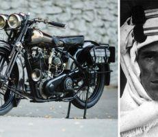 """""""براف"""": دراجة لورنس العرب الشهيرة  تعود إلى الحياة"""