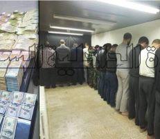 توقيف  (15) شخص في مدينة دمشق بجرم التعامل بغير الليرة السورية