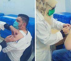 صحة ديرالزور تبدأ بتقديم اللقاحات للعاملين في القطاع الصحي