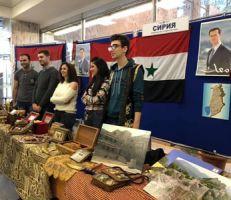 افتتاح أيام الثقافة السوريه في جامعة الصداقه بين الشعوب في العاصمة الروسيه موسكو (صور)