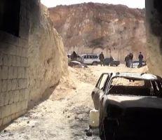 الجيش يعثر على مقر للجولاني في منطقة عنجارة غرب حلب
