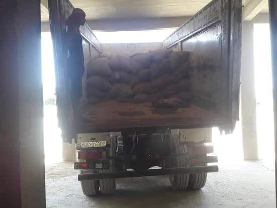 ضبط 131 كيساً من القمح بمخالفة الاتجار بها في دير الزور
