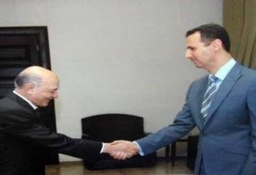الرئيس الأسد يمنح أبو سليم دعبول أرفع وسام في سورية .