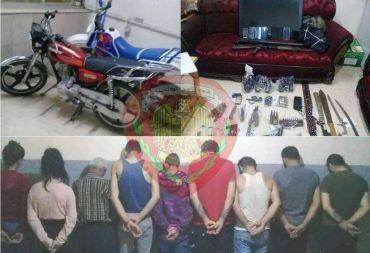الأمن الجنائي في طرطوس يلقي القبض على المتورطين بجريمة قتل شاب بقصد سلب دراجته النارية