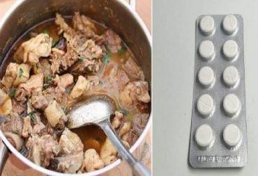 """مخاطر استخدام أقراص """"الباراسيتامول"""" في طهي اللحوم!!"""