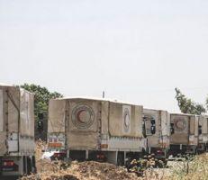 إرهابيون يستولون على مساعدات إنسانية في مخيم الركبان