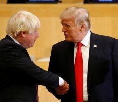 """جيمس مور : خيط من """"الغباء"""" يربط بريطانيا جونسون مع أميركا ترمب"""