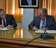توقيع اتفاقية تعاون شاملة بين الزراعة وأكساد