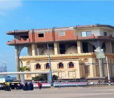 """""""السلطات المصرية"""" تقرر إزالة مبنى مثير للجدل"""