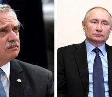 الرئيس الأرجنتيني لبوتين: إصابتي بكورونا دون أعراض بفضل اللقاح الروسي