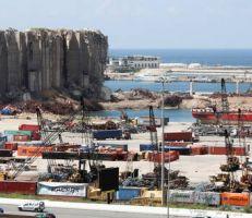 شركات ألمانية تعرض خططها لإعادة إعمار مرفأ بيروت .