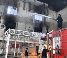 مقتل وإصابة العشرات في حريق بمستشفى مخصص لمرضى كورونا في بغداد (فيديو)
