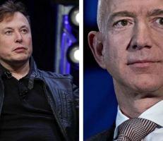 """بيزوس يحتج على قرار ناسا بمنح عقد بقيمة 2.9 مليار دولار لـ """"سبيس إكس"""""""
