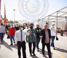 سكرتير السفير الأندونيسي يزور سوق رمضان الخيري بدمشق..