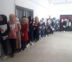 إقبال كبير باتجاه صناديق الاقتراع بديرالزور (صور)
