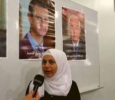 طلاب دمشق يدلون بأصواتهم وكلهم أمل بمستقبل مشرق قادم.. (فيديو)