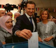 رئيس مجلس الشعب يعلن فوز الدكتور بشار الأسد بمنصب رئيس الجمهورية العربية السورية