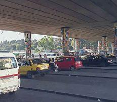 أزمة النقل في دمشق يوم الجمعة (فيديو)