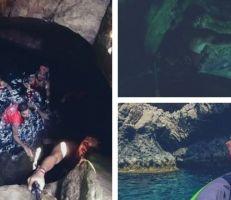 اللاذقية: اكتشاف كهف بحري غارق في شاطئ الأرمن بقرية السمرا