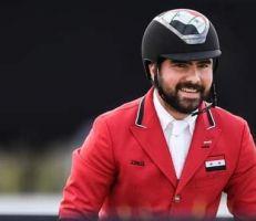 بطل الفروسية أحمد حمشو يرفع العلم السوري في افتتاح أولمبياد طوكيو