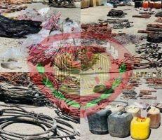 دمشق: الأمن الجنائي يلقي القبض على عصابة تمتهن سرقة الكابلات الكهربائية في دمر