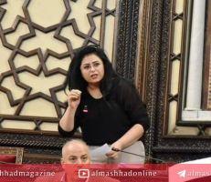 نائبة في البرلمان تطالب بحضور وزراء المالية عن سنتي 2014 و 2015 وحاكم المركزي الأسبق .