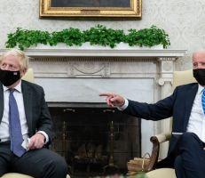 جو بايدن يرفض الالتزام بإبرام اتفاقية للتجارة الحرة مع بريطانيا