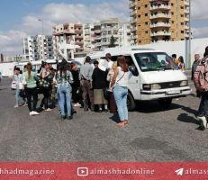 شاب يتحرش بفتاة في كراج طرطوس ويهدد عناصر الشرطة بفتح قنبلة!