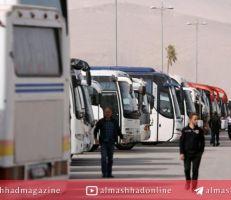 تعديل تسعيرة نقل الركاب من العاصمة دمشق إلى المحافظات .